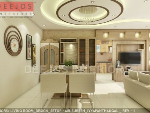 DINING ROOM  DEEJOS INTERIORS PVT LTD