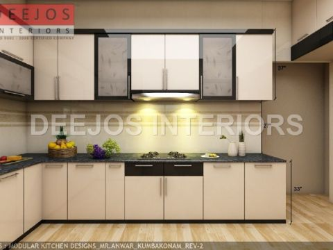 KITCHEN  DEEJOS INTERIORS PVT LTD