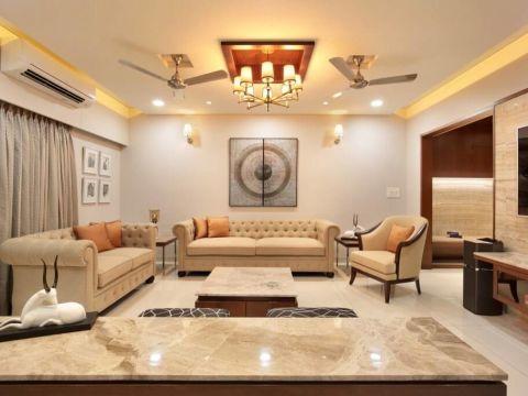 LIVING ROOM  Designpack Bangalore
