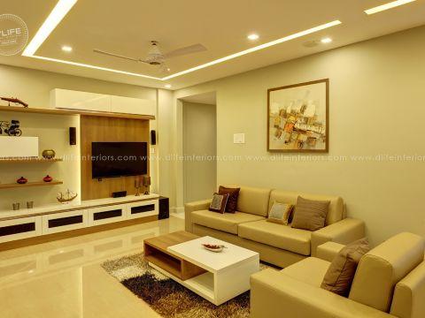 LIVING ROOM  DLife Home Interiors
