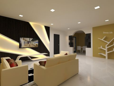 HOME THEATER  Doozy life Interiors
