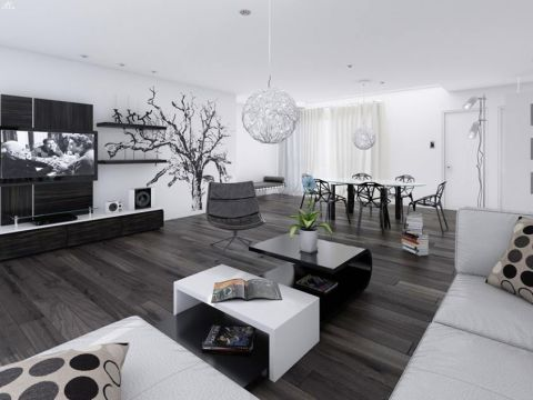 LIVING ROOM  Dream Craft Interiors