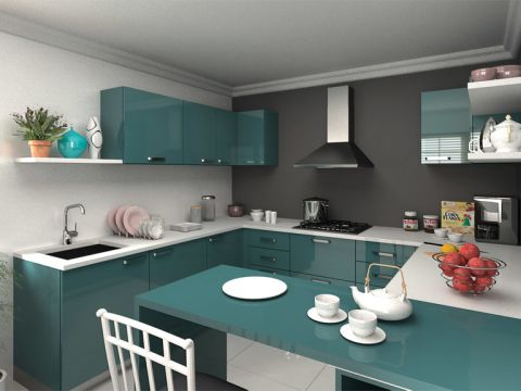 KITCHEN  Dream Kitchen Interior