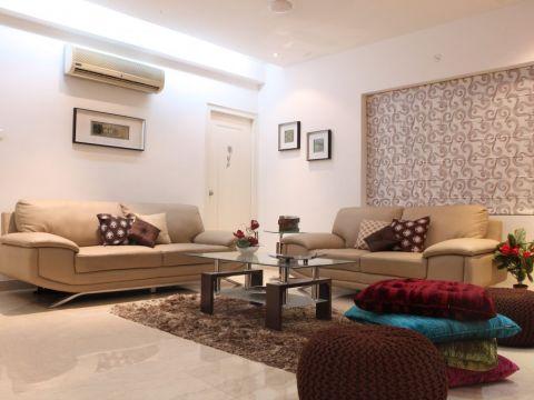 LIVING ROOM  Dzyner Interiors