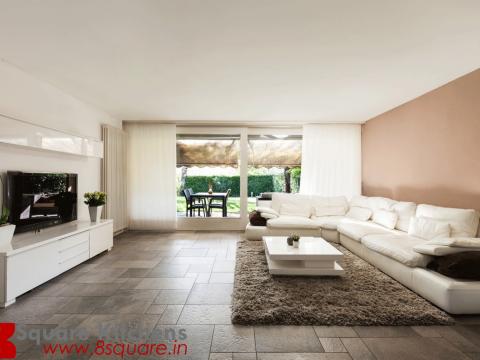 LIVING ROOM  EightSquare Interiors