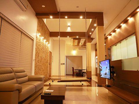 LIVING ROOM  El Diseno Interiors