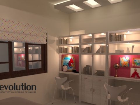 STUDY/OFFICE ROOM  Evolution Interiors