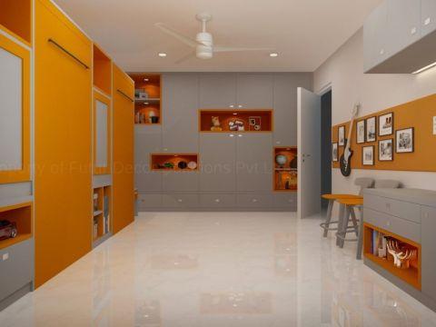 LIVING ROOM  Futur Decor Pvt. Ltd.