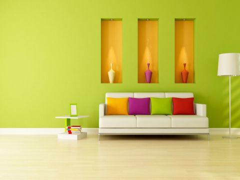 LIVING ROOM  Hari Interiors