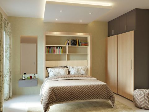 Bed room bedroom kitchen homelane interiors