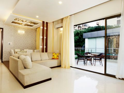 LIVING ROOM  Interior Design Bangalore