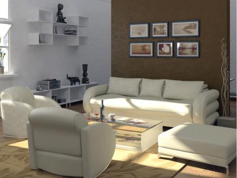 LIVING ROOM  ITrenddz Interiors