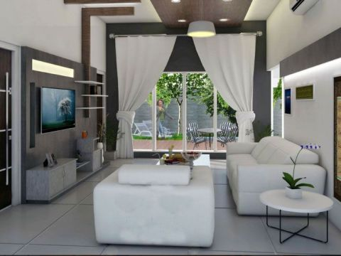 LIVING ROOM  Izza Interiors