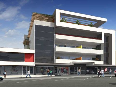 SHOPPING CENTRES  Jeffi Architects
