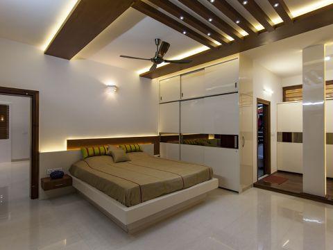 BEDROOM  Jyaamiti architectural studio