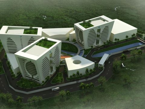 OFFICE BUILDINGS  K.S.Ranganath Architects