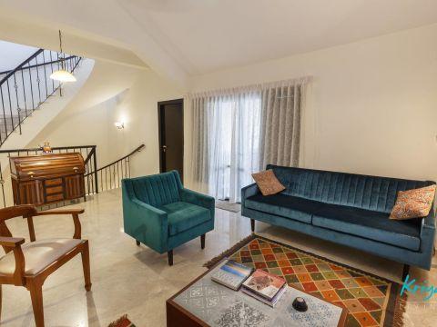 LIVING ROOM  Kriya Design Studio