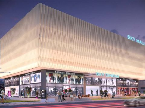 SHOPPING CENTRES  KSquare Architects