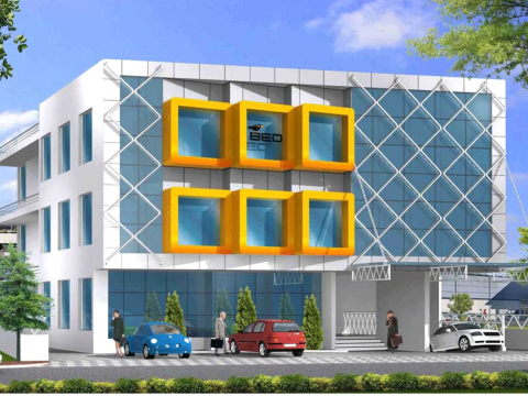 OFFICE BUILDINGS  Mathew and Saira Architects