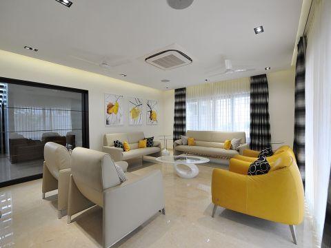 LIVING ROOM  Midori Architects