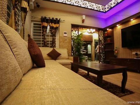 LIVING ROOM  Miniotecture Studio