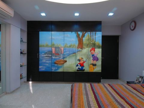 NURSERY/KID'S ROOM  MM Interiors