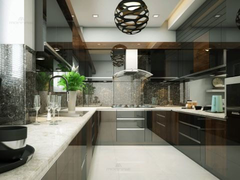 KITCHEN  Monnaie Architects  and Interior