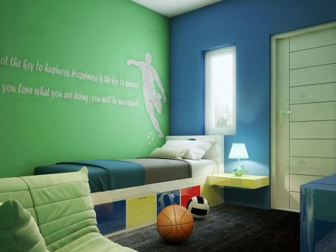 NURSERY/KID'S ROOM  Monnaie Architects  and Interior