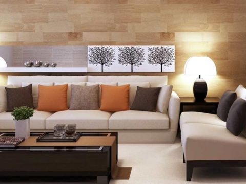 LIVING ROOM  Nivas Home Interiors
