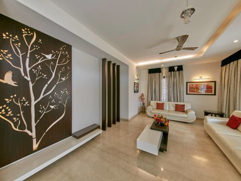 LIVING ROOM  NVT Design Studio