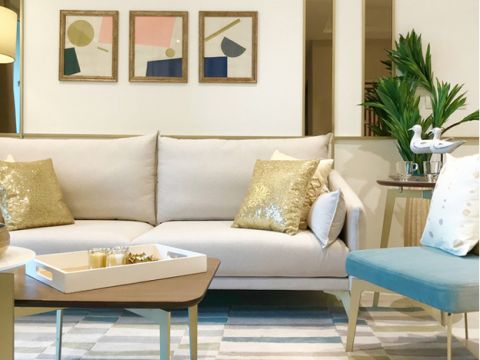 LIVING ROOM  One four zero five  Design Studio