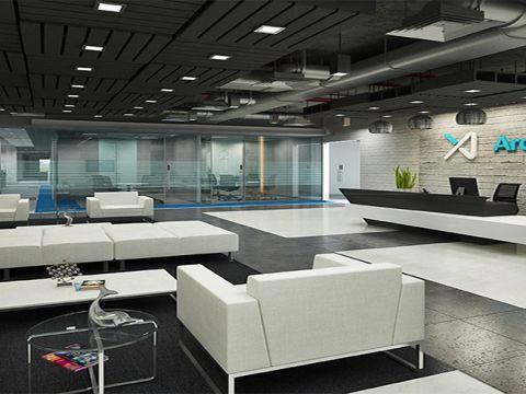 OFFICE BUILDINGS  Padam Interiors