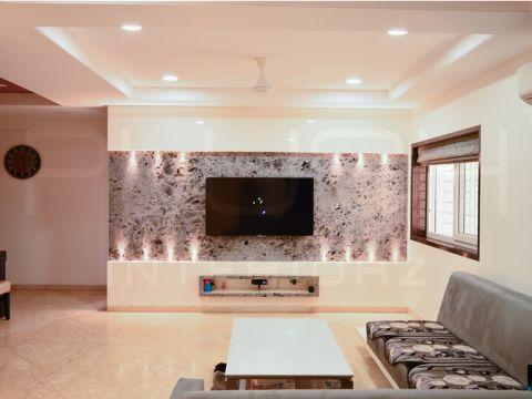 LIVING ROOM  Plush Interiors