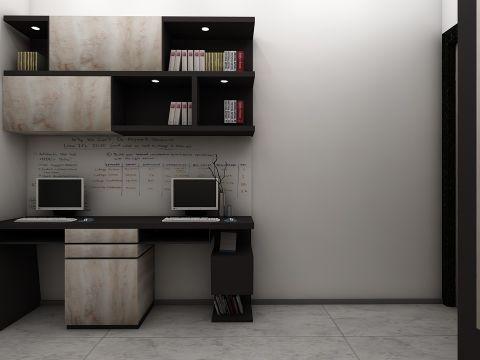 STUDY/OFFICE ROOM  Plush Interiors