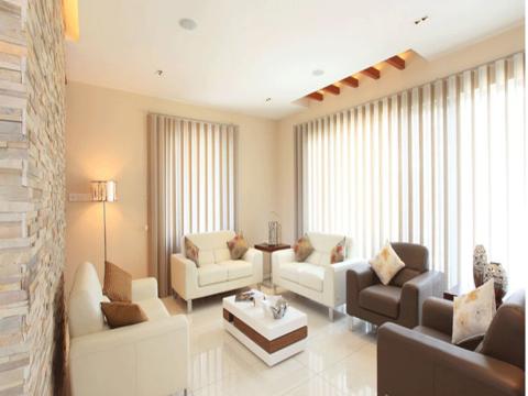 LIVING ROOM  Raamz Interiors