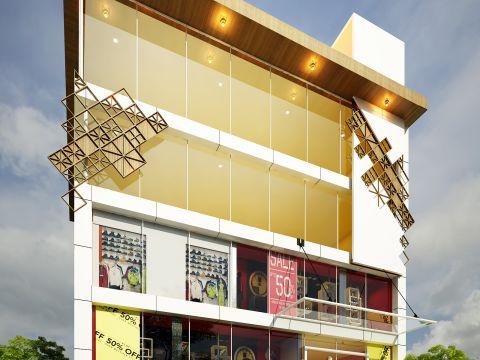 COMMERCIAL SPACES  Raj Architects