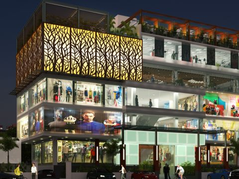 SHOPPING CENTRES  Rayan Ibrahim Architects