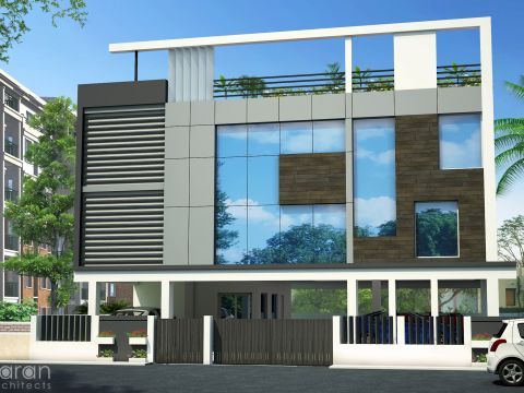 OFFICE BUILDINGS  Saran Architects
