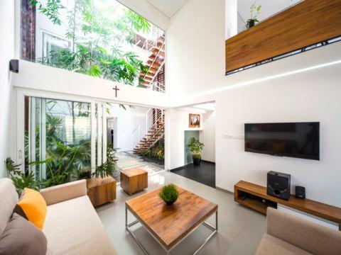 LIVING ROOM  Shree Designers