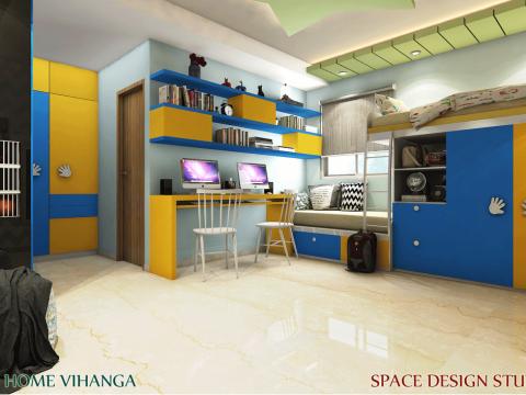NURSERY/KID'S ROOM  Space Design Studio Interiors