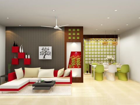 LIVING ROOM  Space Designers