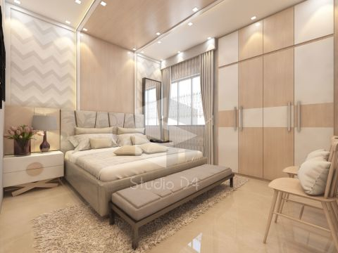 BEDROOM  Studio Dfour Designs