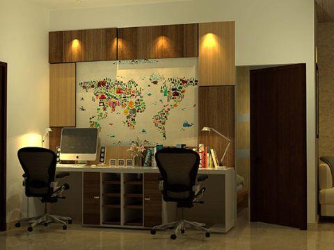 STUDY/OFFICE ROOM  Studio Three One Twelve Architects