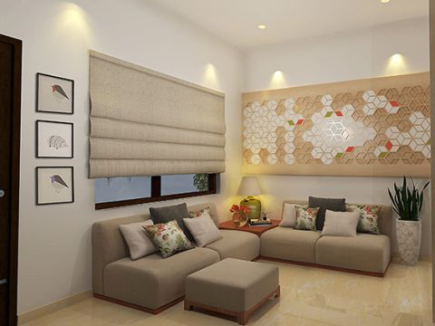 LIVING ROOM  Studio Three One Twelve Architects