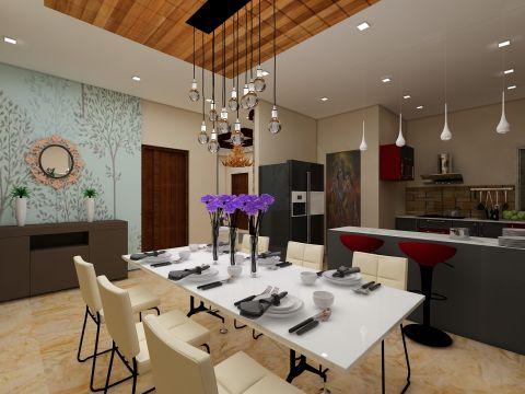 DINING ROOM  Tanmaya Interiors