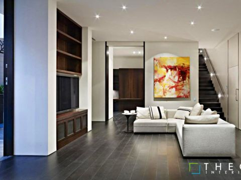 LIVING ROOM  Theoz Interiors