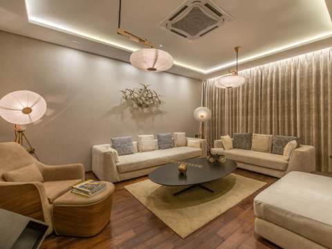 LIVING ROOM  Think Designz