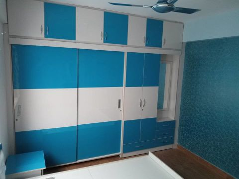 DRESSING ROOM  Vsquare Interior Designs Pvt Ltd