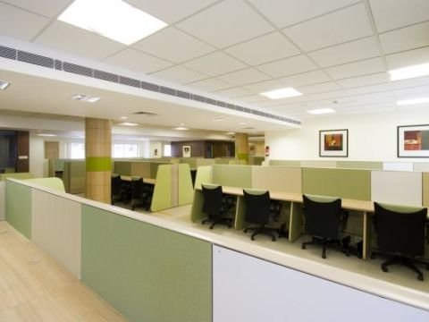 OFFICE BUILDINGS  Woodline Interiors