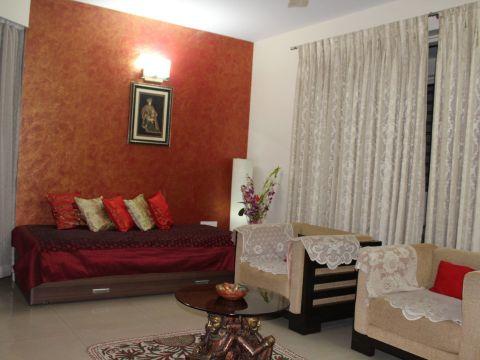 LIVING ROOM  Yuvati Interiors